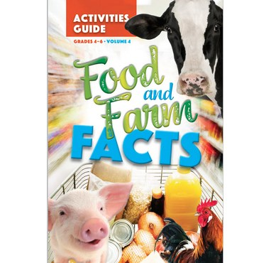 2019 Food And Farm Facts Activity Cards: 4-6